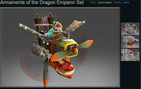 Armaments of the Dragon Emperor