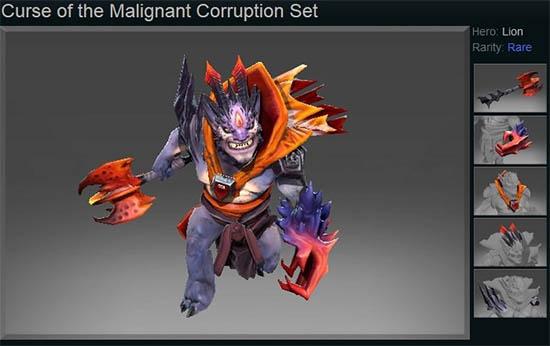 Curse of the Malignant Corruption