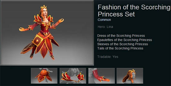 Fashion of the Scorching Princess