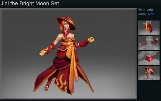 Jini the Bright Moon
