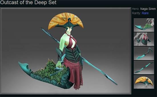 Outcast of the Deep