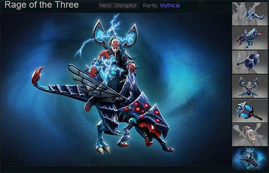 Rage of the Three
