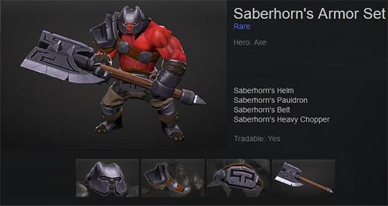 Saberhorn's Armor