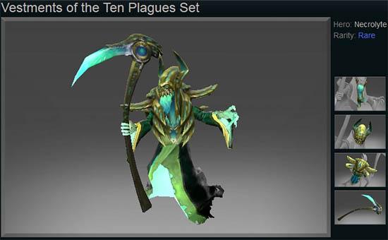 Vestments of the Ten Plagues