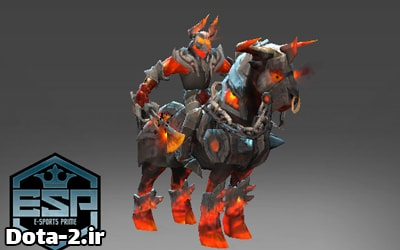 Arms of Burning Turmoild dota2 set