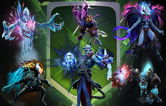 dota 2 immotals 2018